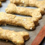 Pumpkin Oatmeal Dog Treats - Pumpkin, oatmeal and cozy spices make this the perfect fall treat for your dog!