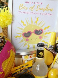 A Little Box of Sunshine With Printable
