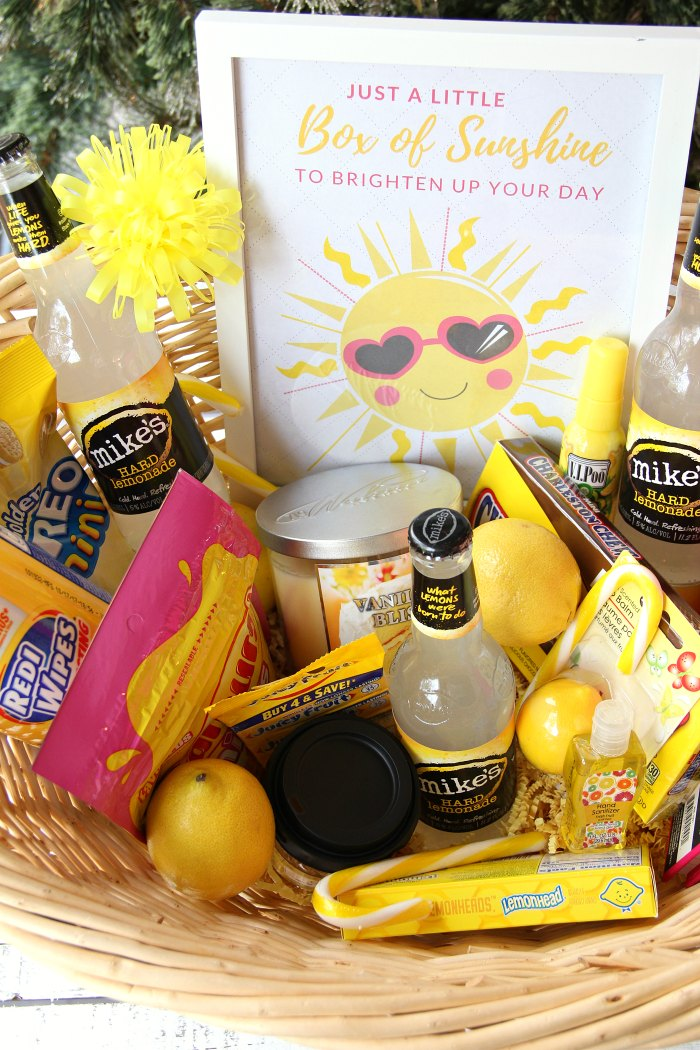 photo regarding Basket of Sunshine Printable named A Minimal Box of Sun With Printable - Bitz Giggles