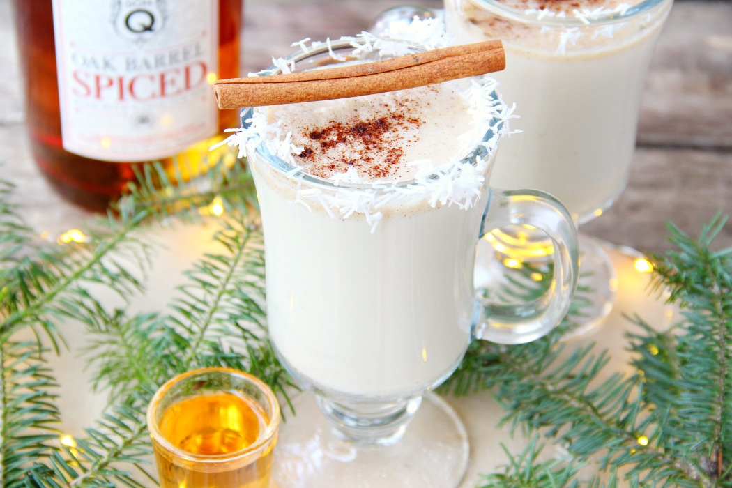 This classic hot cocktail is sure to warm you up with a delicious combination of milk, rum and spices. So wonderful and creamy!