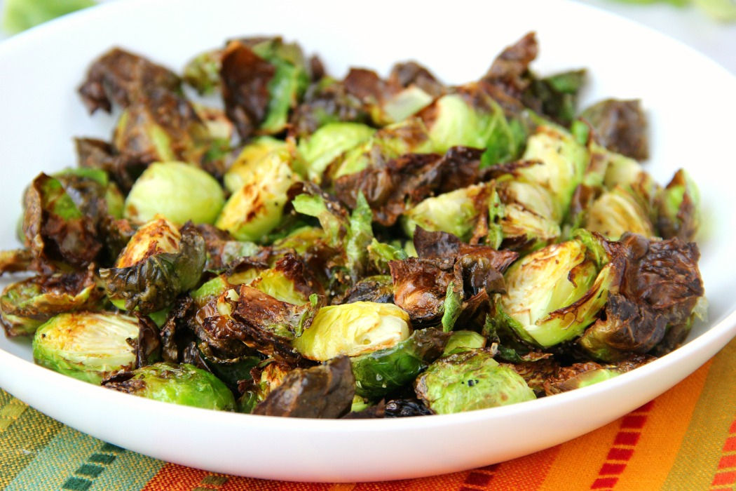 Honey & Balsamic Air Fryer Brussels Sprouts