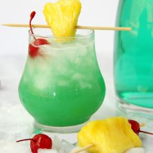 Green Hawaiian Cocktail