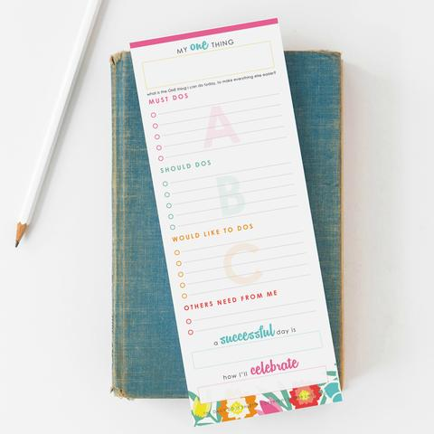 5 Strategies for Tackling Your To-Do List - If you have a long list and have trouble marking things off, implement these 5 strategies to get more done!
