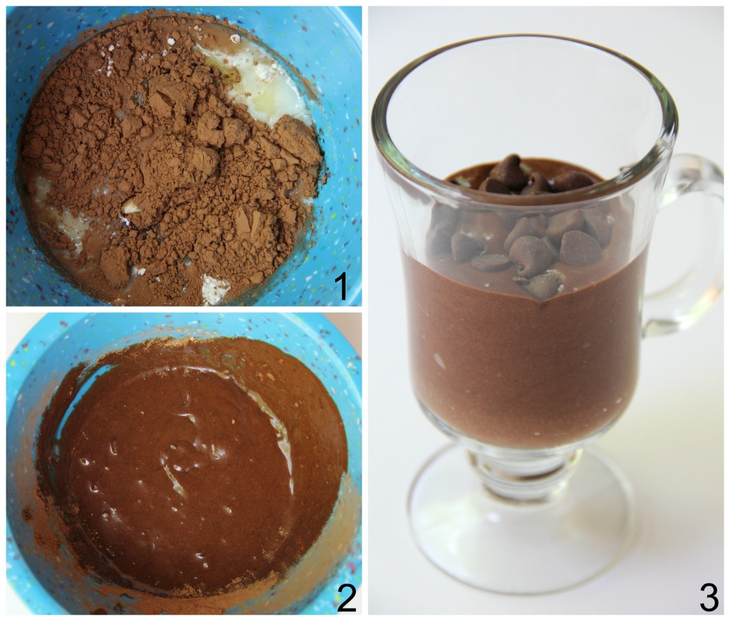 Easy Chocolate Mug Cake - Ready in 90 seconds! This mug cake is moist and delicious with melty chocolate fudge throughout!