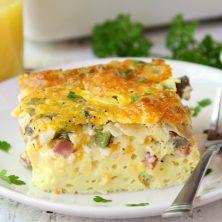 Ultimate Oven Baked Omelette