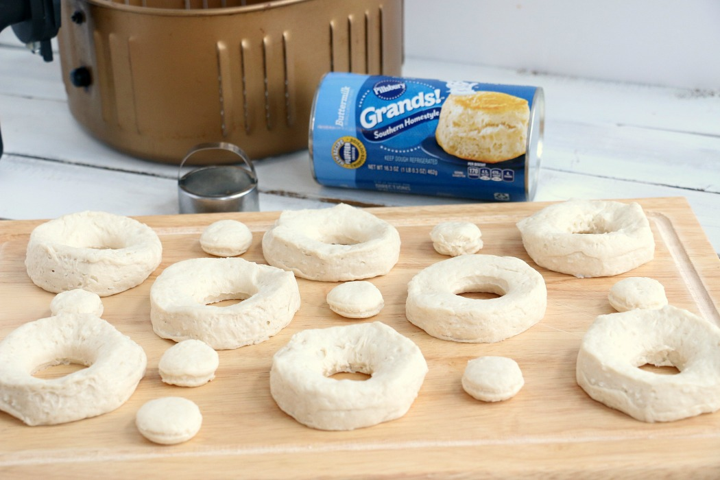 Air Fryer Donuts - Easy, soft and delicious 5-ingredient donuts you can make right in your air fryer!