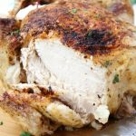 Ninja Foodi Roast Chicken - Deliciously moist chicken that's flavorful and crispy on the outside! So easy to make in your Ninja Foodi in no time at all!
