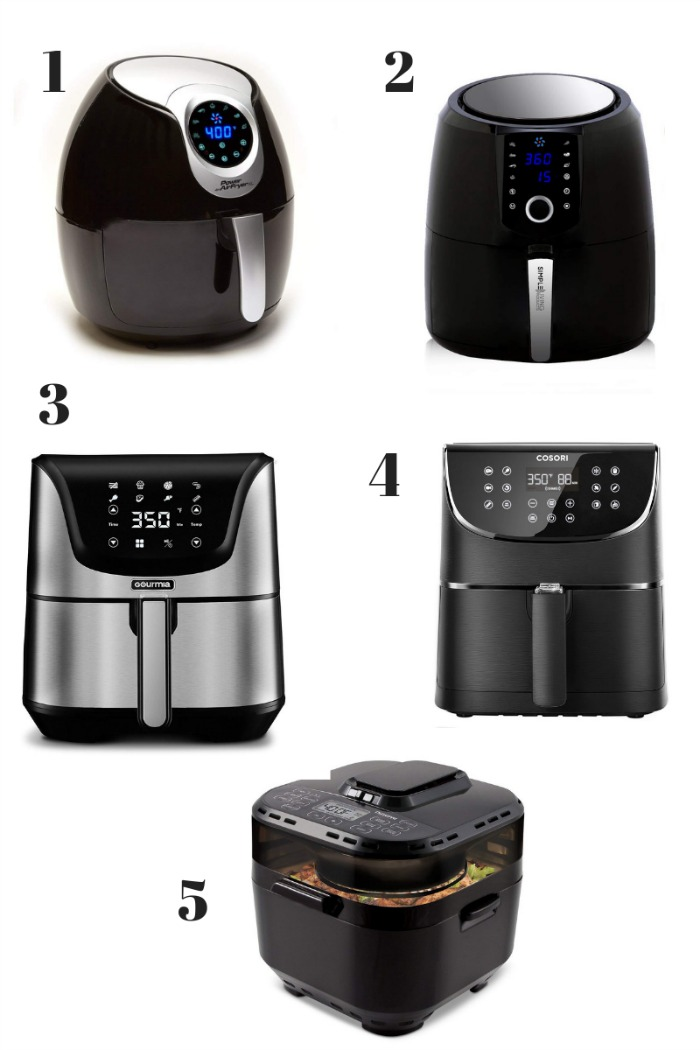 Top 10 Best Digital Air Fryers - A helpful air fryer comparison guide to help you decide which brand of air fryer is best for you!