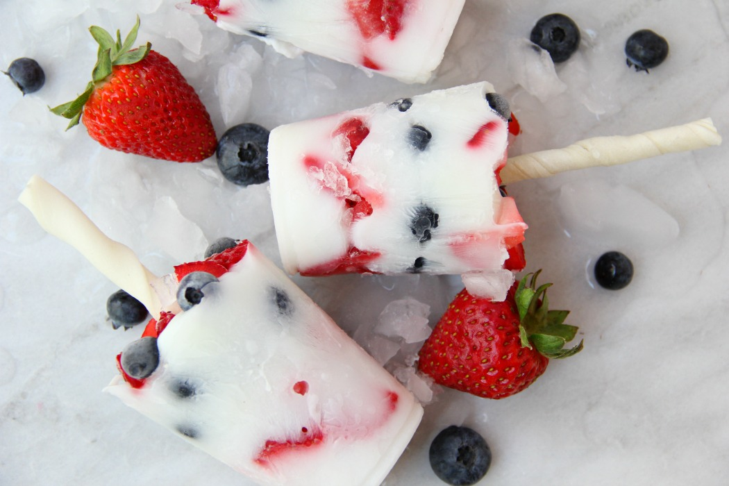 Berry Pup Pops