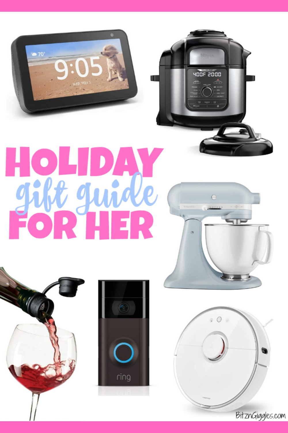 2019 Holiday Gift Guide for Her – Browse through some of my favorite and hottest gifts of the season! Perfect for any special lady in your life, especially you!