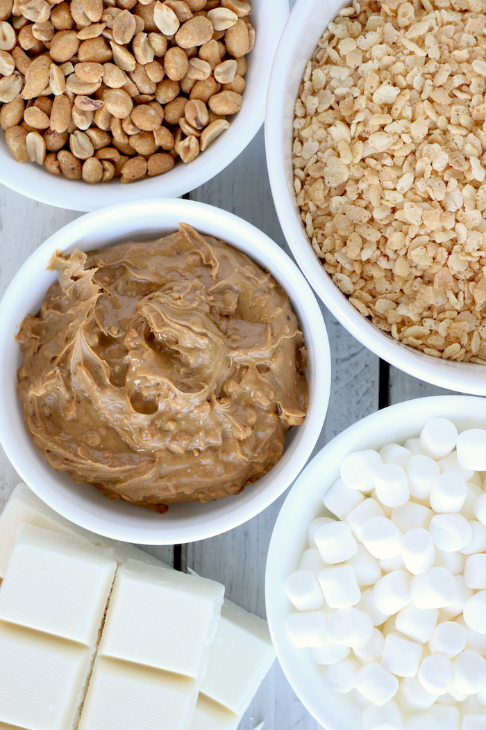 Peanut Butter Cluster ingredients