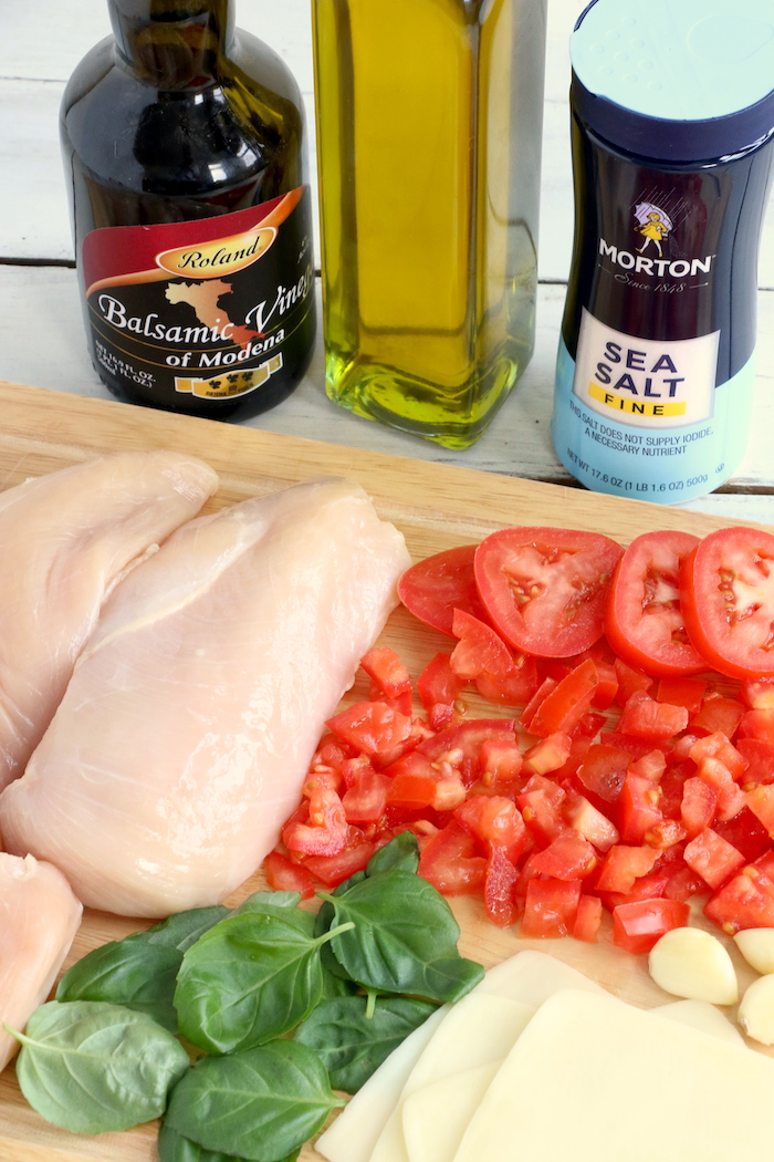 ingredients for bruschetta chicken
