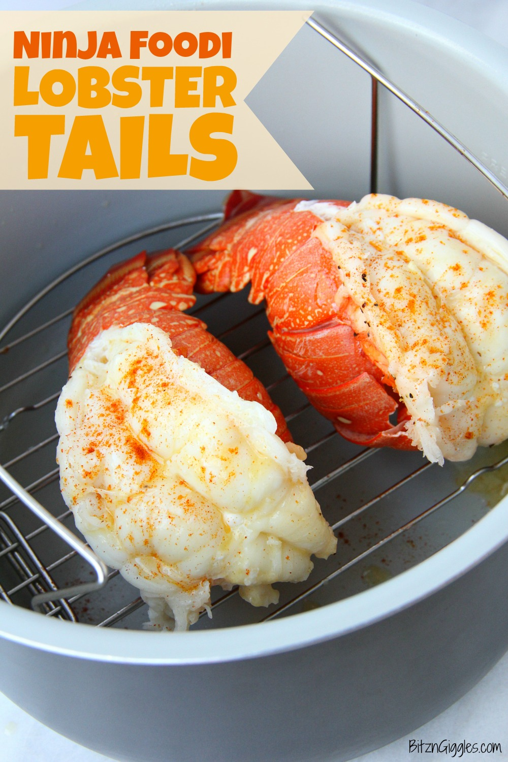 lobster tails in ninja foodi
