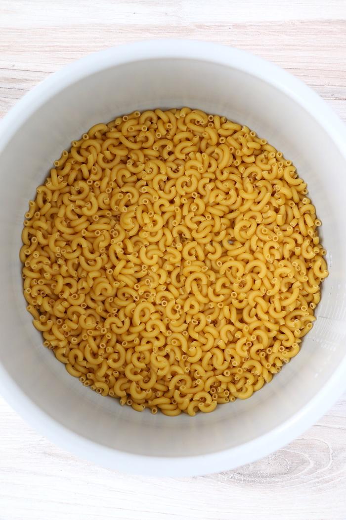 Pasta in Ninja Foodi cooking pot