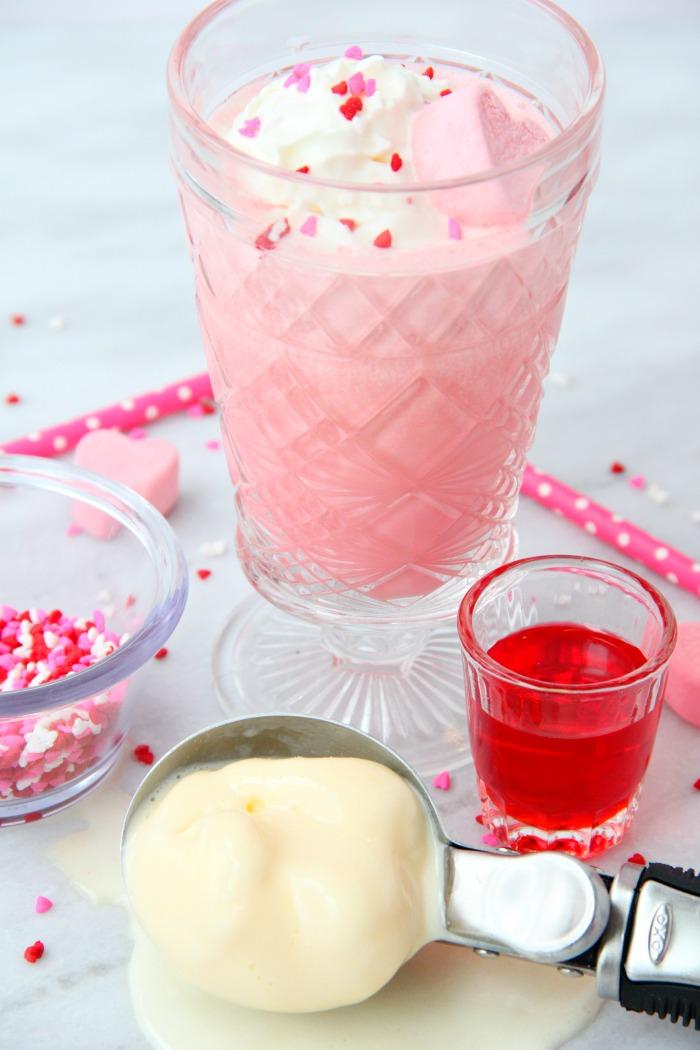pink squirrel ice cream drink