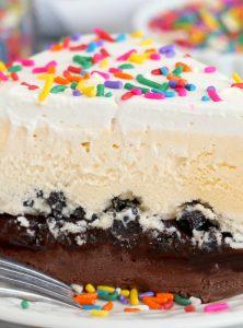 homemade copycat dairy queen ice cream cake