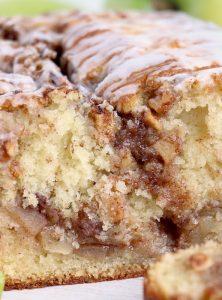 Loaf of apple cinnamon bread