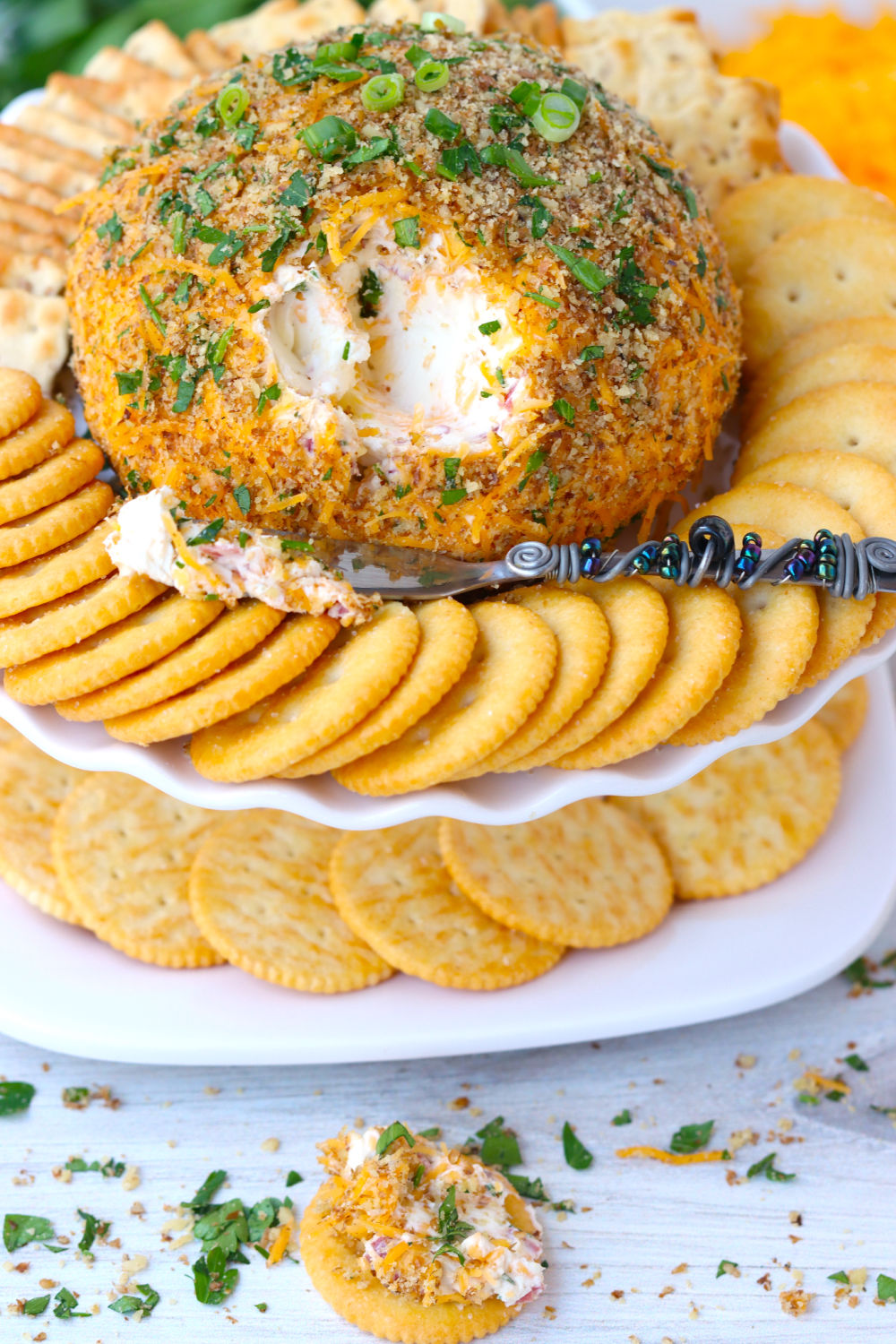 Cheese ball appetizer