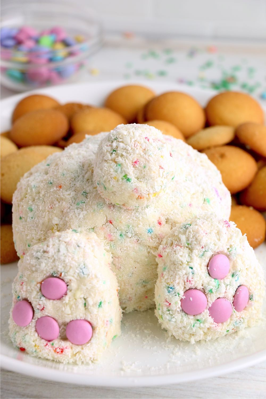 Funfetti Easter bunny butt image