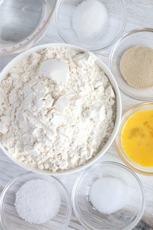 ingredients for soft pretzels